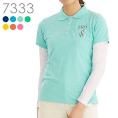 7カラーストレッチポロシャツ