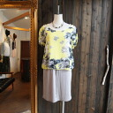 ★ watercolor floral print layer won piece ★ Yellow series