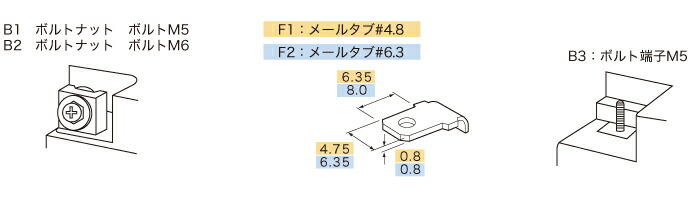 GSユアサ PWLシリーズ 端子形状