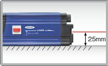�A�b�N�X�u���[�� ���[�U�[�t���f�W�^�������X�Όv Laser Digital Level�@DLA-600VM