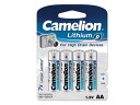 Lithium AA batteries AA/LR6 1.5 v-2900 mAh 4pcs