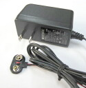 Snap 9 VDC switching power ( 9 V dry battery replacement adapter )