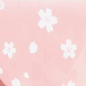 ギフト包装(花柄 ピンク色)