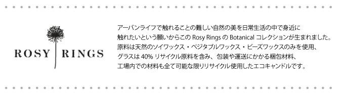 ROSYRINGS�?�������BigBotanicalCandle300hrs�ڥ����ɥ�ۡڥ���ޥ����ɥ�ۡڿ�����ɥ��