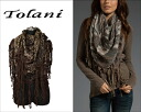 Tolani tolani SCARF CAPE Cape scarf tolani scarf winter Essentials! Format stole scarf large format!