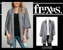 Fluxus Fluxus ZANNIE SWEATER (Cardigan) one-piece, T-shirt etc in popularity many celebrities such as Nicole Richie and Jessica Alba also favored