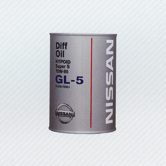 Nissan Differential Oil Hypoid Super Gl 5 80w 90