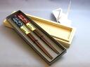 Wakasa lacquered chopsticks owl (couple chopsticks) / present / pair / celebration / gift /- treasuring