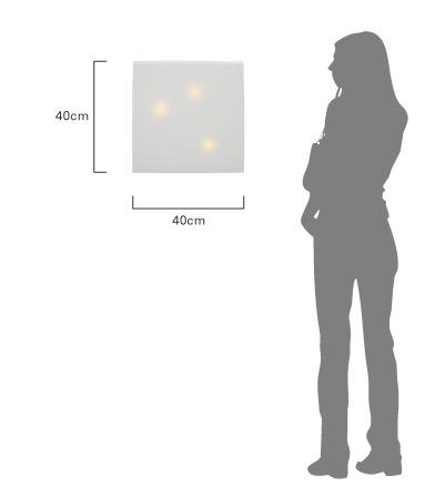 デザイン照明のDI CLASSE Kodo ディクラッセ コドー  時計 商品のサイズ