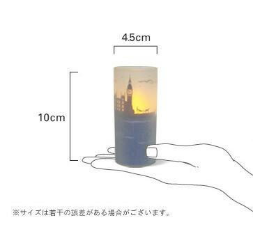 デザイン照明器具のDI CLASSE(ディクラッセ) クオーレグラフィオ LEDキャンドル サイズ