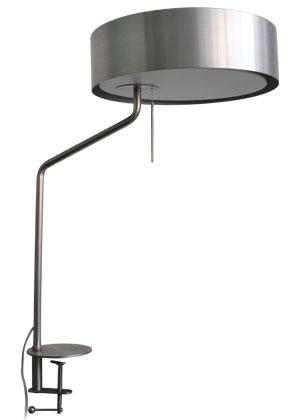 LEDカペラ クランプランプ シルバー