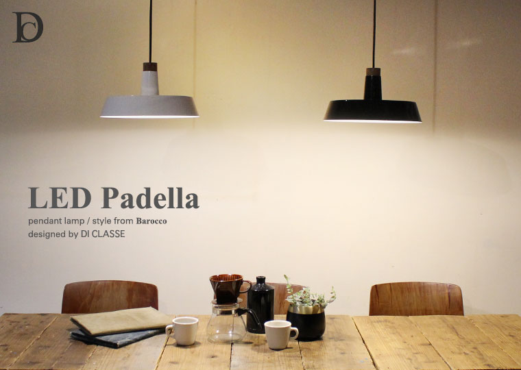 LED Padella pendant lamp