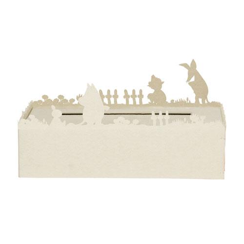 デザイン照明のディクラッセ ティッシュケース ムーミン ホワイト