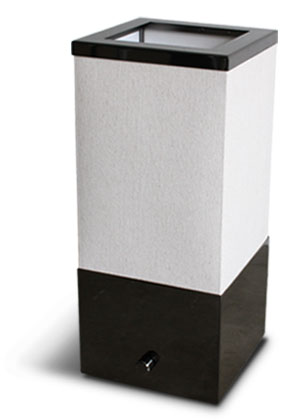 トモス テーブルランプ ブラッククローム