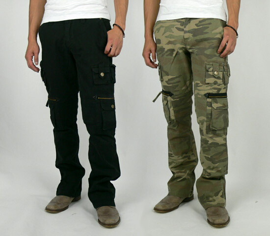 diablos | Rakuten Global Market: Acid Jazz Men boot cut cargo ...