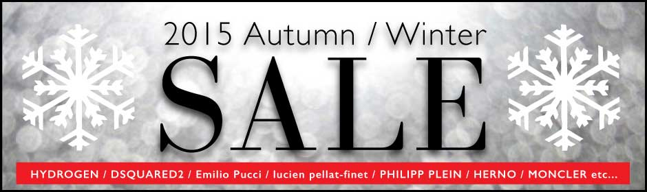 2015 AUTUMN WINTER SALE