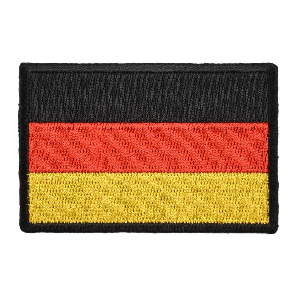ミリタリーパッチ ドイツ国旗 アイロンシート付