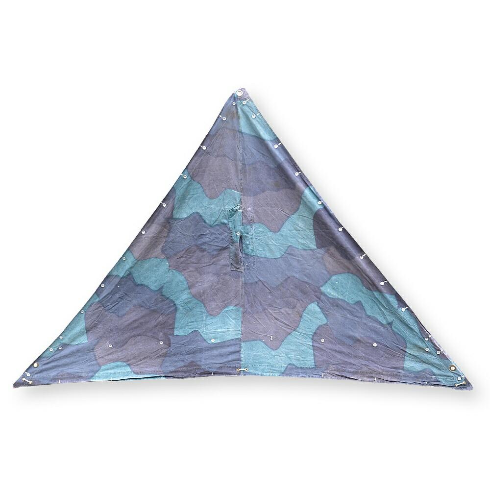 Tarp Simplified >> Reptile   Rakuten Global Market: Army surplus tent sheet triangle camouflage Sweden military ...