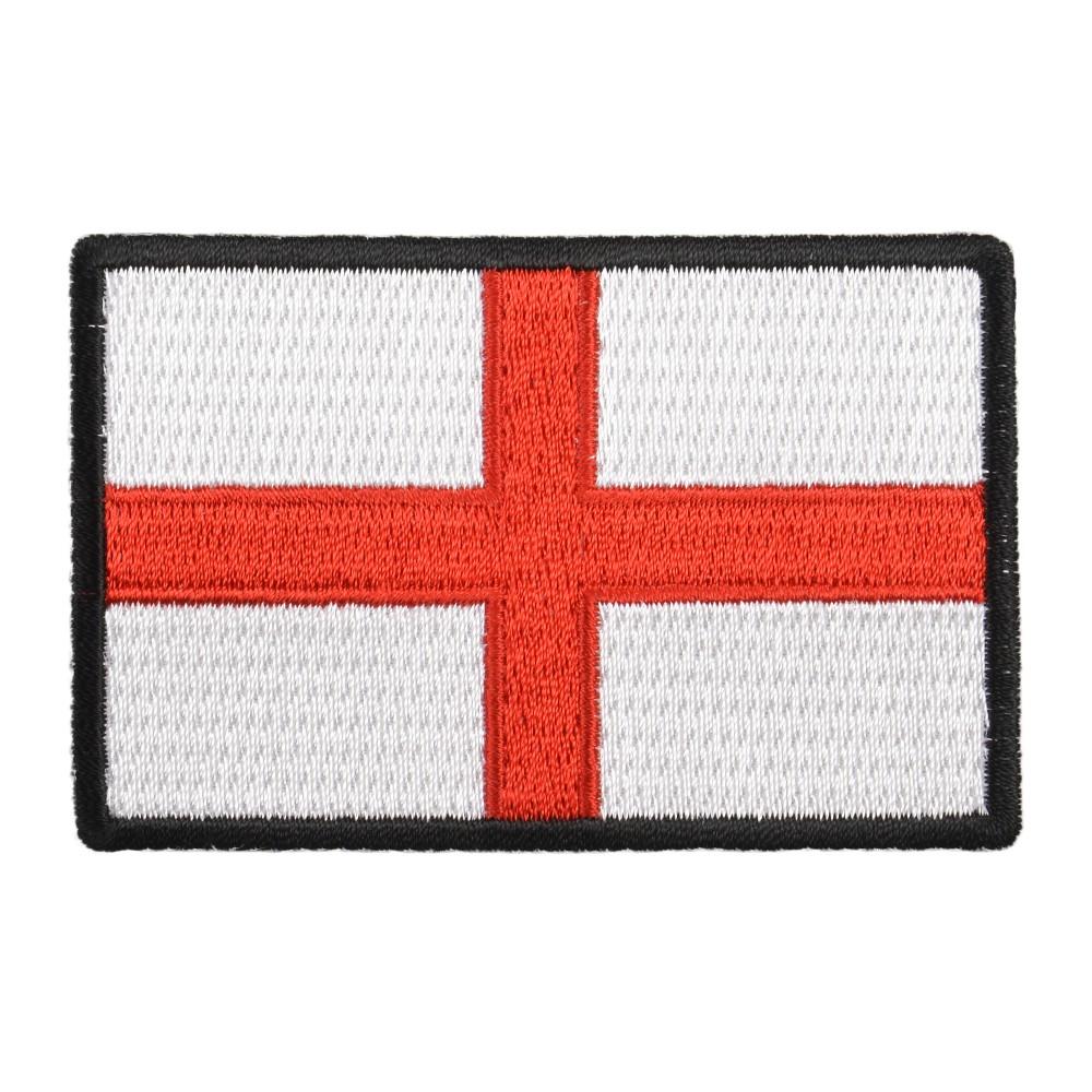 ミリタリーパッチ イングランド国旗 アイロンシート付