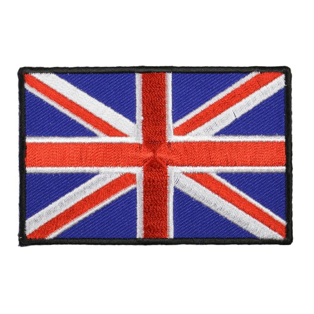 ミリタリーパッチ イギリス国旗 アイロンシート付