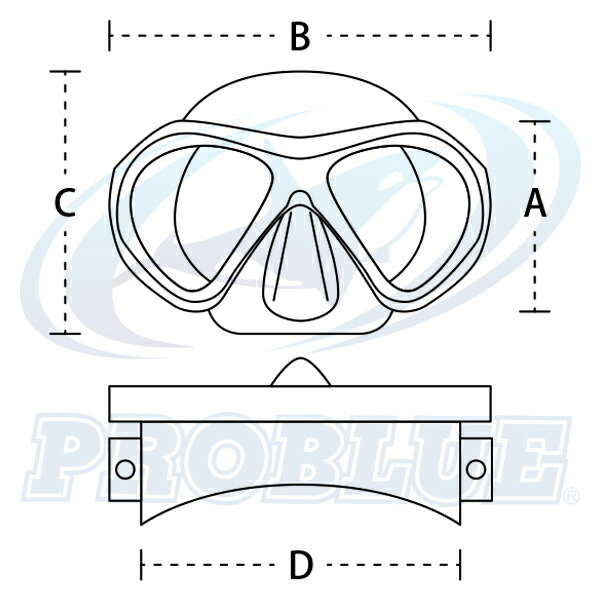マスクサイズ図