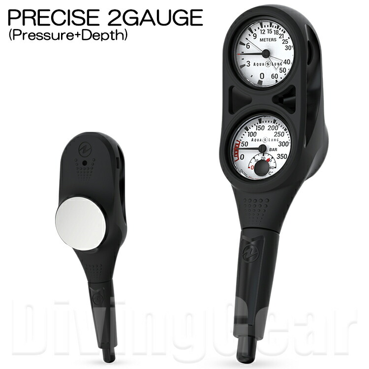 AQUALUNG(アクアラング)PRECISE2GAUGEプレシス2ゲージ(残圧計+水深計)