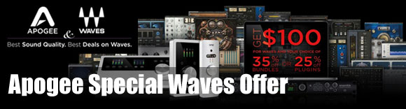 Apogee Special Waves Offer