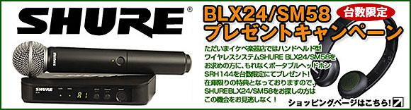 SHURE BLX24/SM58�����ڡ���