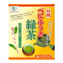 Organic べにふうき green tea (pyramid type tea bag)