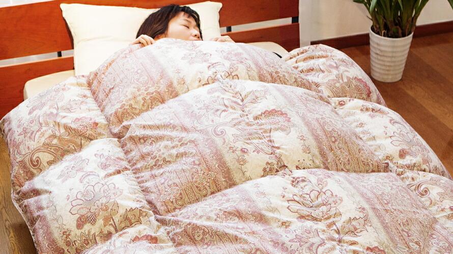 エクセルゴールドラベル 日本製 羽毛掛け布団
