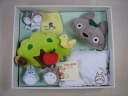 Set K-1740-10000fs3gm esperiences Totoro baby gift set 10 c wood