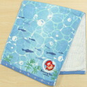 Ponyo on the cliff Face towel wavers [Ghibli-goods]