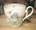 My Neighbor Totoro mug cup leaf ship, (Noritake prima ballerina China)