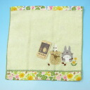 My Neighbor Totoro mini-towel Totoro pick up acorn [studio Ghibli]