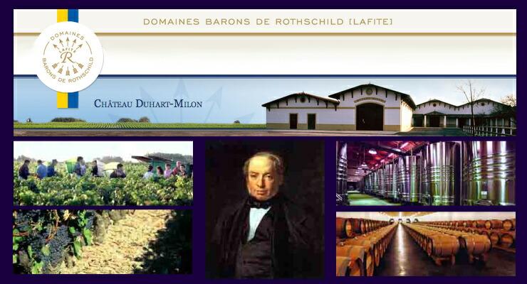 シャトー・デュアール・ミロン Chateau Duhart-Milon-Rothschild
