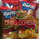 Doritos the Mexican and tacos taste & nacho cheese flavor 8 bag ( Mexican tacos taste 63 g x 4 bag nacho cheese flavor 63 g x 4pcs ) Doritos