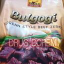 Mariani Bulgogi beef jerky-255 g snack MARIANI BEEF JERKY (from Australia)