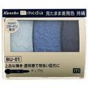 Kanebo media grade color is shadow BU-01 4973167102107