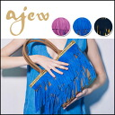 エジュー [ajew] popular フリンジトート series NEW color ♪ we stock from late April Fringe tote series medium ladies bag Tote blog store