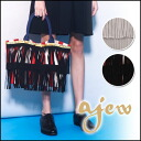 フリンジトート series of popular エジュー [ajew] ♪ we stock than mid-May Fringe tote series large ladies bag Tote blog store