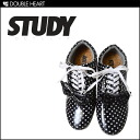 Sneakers brand of STUDY LA! Enamel material dot sneakers! THE DOT DROP sneakers polka dot black ladies 2013 fall winter FW new fs3gm.