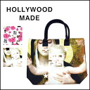 HOLLY WOOD MADE [ハリウッドメイド] some famous brand ロゴパロディトート bag ☆ GIVE A SHIT/GIVE A SHIT ROSE TOTE BAG bag ladies hand a4 commute commuting popular [u14111tb], [u14114tb]