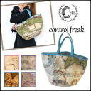 キャセリーニ control freak at large to commute GOOD! Marine map Tote M ladies hand fashionable retro a4 voyage map tote bag large new
