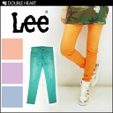 Lee skinny final disposition Super Sale pop color is cute! jeginsu Cara pants leggings skirts ladies | XS S M green purple orange pink blue | (LL0350) fs3gm