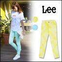Lee (Lee) store SKINNY JEGGINGS Jergens skinny women's pants slim tie dye color stretch legs Pagans leg pain