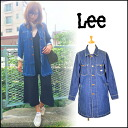 Lee (Lee) mail-order SHOP COAT women's jacket military mods coat light alter A line shirt spring outerwear