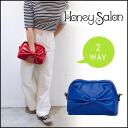Brand mail order [FHB-0773] which 2WAY bag ♪ mini-ribbon shoulder Lady's pochette enacted to both honey salon [Honey Salon] bag clutch and a slant cliff has a cute