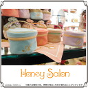 Honey Salon [honey salon, small Honey イニシャルバニティ (FHB-0509) mail order / ladies / makeup pouch, make Purch, wristlet | bag