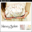 Cute honey Salon bag pouch jewel FOX Idol pouch make Purch makeup pouch animal pattern Ribbon fs3gm