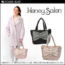 Honey Salon point big Ribbon ♪ メルチャン Womens handbags tote bag, your training bag also recommended ♪ 2013 winter new fs3gm